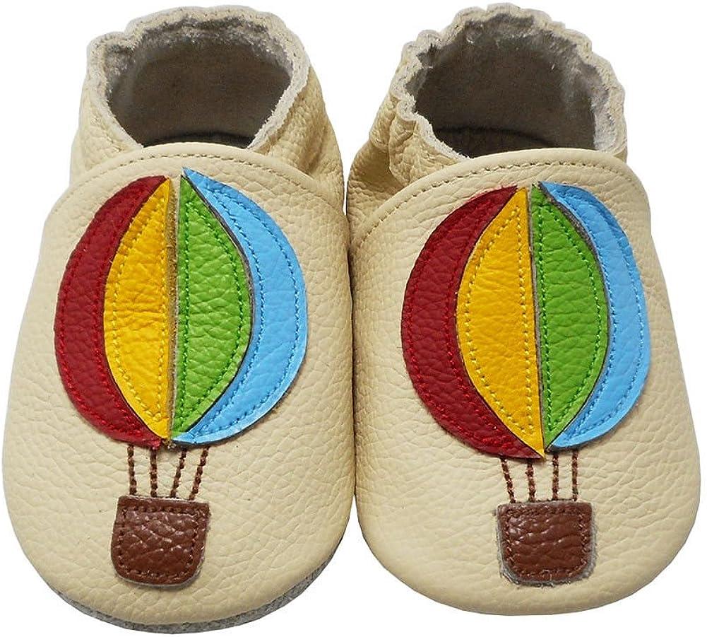 Chaussures b/éb/é Chaussures en Cuir Souple Slipper Infant Toddler Walker Chaussures First Step Gar/çons Filles