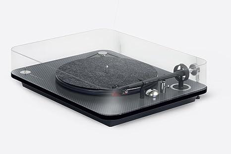 Elipson Omega 100 Carbon - Tocadiscos Tracción a Correa con RIAA ...