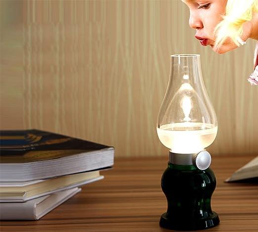 Lights B Retro Night Control Blow Dimming Led Creative Lamps OZPXiku