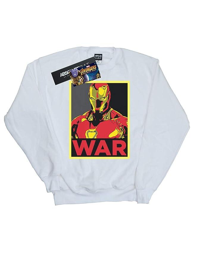 Marvel Niñas Avengers Infinity War Iron Man War Camisa De Entrenamiento: Amazon.es: Ropa y accesorios