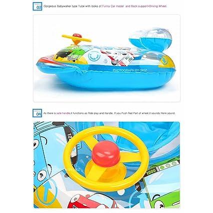 Mimi mundo] Tayo Bus Tubo de aire tipo bebé Trend - Andador ...