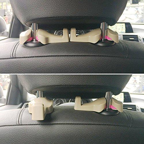 petsvv universal car vehicle back seat headrest hanger holder import it all. Black Bedroom Furniture Sets. Home Design Ideas