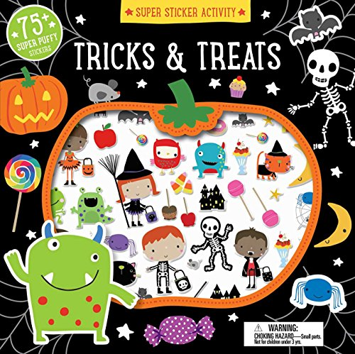 Kindergarten Halloween Activities (Super Sticker Activity: Tricks and)