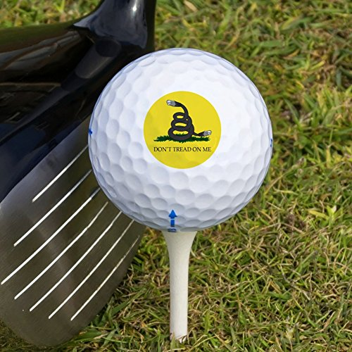 Net Neutrality Don't Tread on Me Novelty Golf Balls 3 Pack by Graphics and More (Image #2)