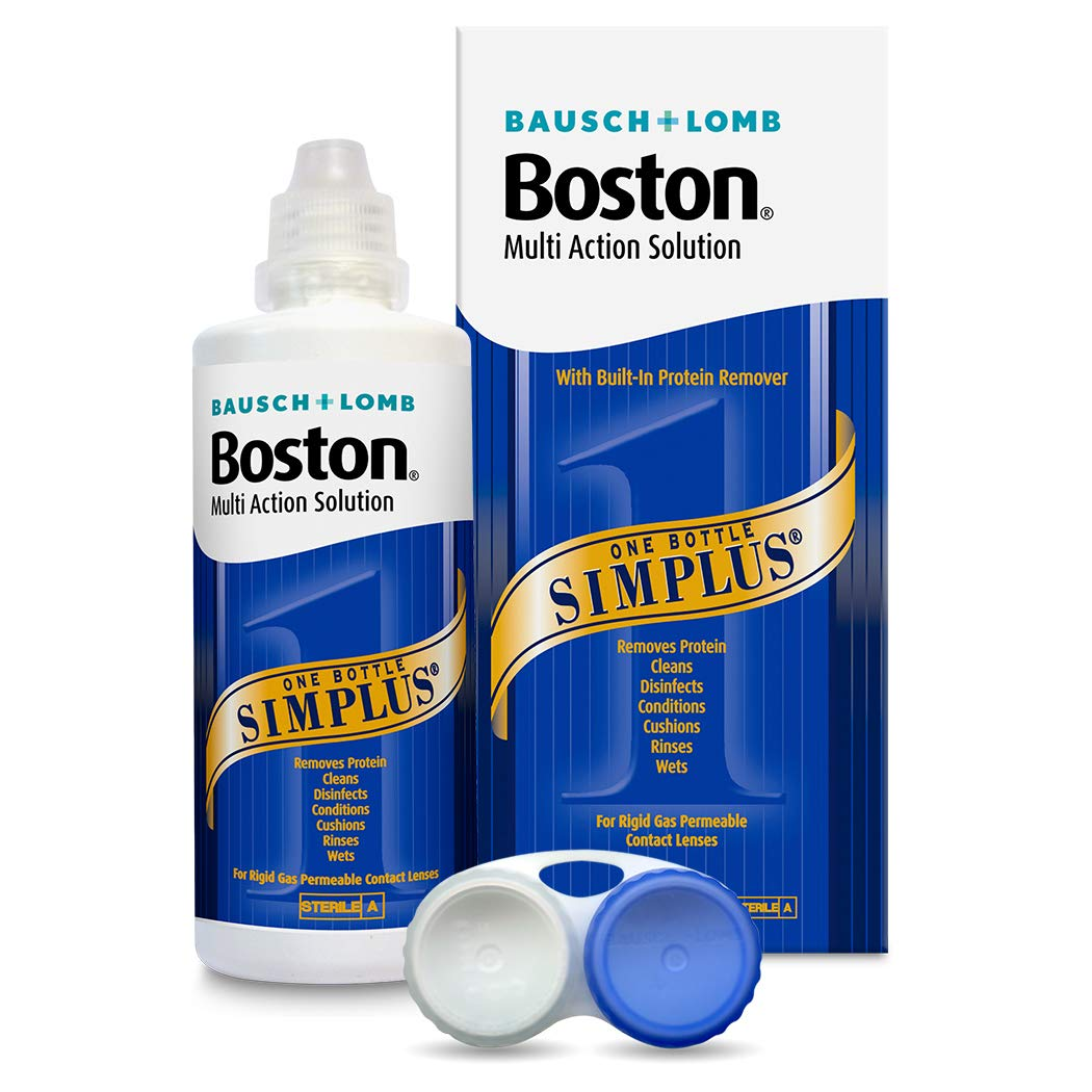 Boston Bausch & Lomb Simplus Multi Action Solution for Rgp Lenses 120ml