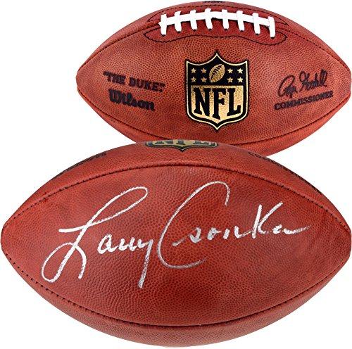Larry Csonka Miami Dolphins Autographed Duke Pro Football - Fanatics Authentic Certified - Autographed Footballs