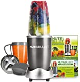 NUTRiBULLET Series Set, 0.68 Litre, 600 W, 8-Piece, Graphite, Aluminum