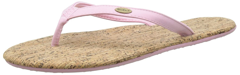 O'Neill Damen FW Zehentrenner Cork Bed Flip Flop Zehentrenner FW Pink (Pale Blush) 4cf417