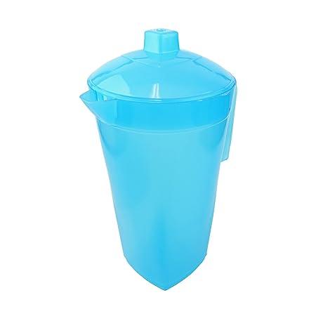Bid Buy Direct® 1,6 l jarra para agua con tapa,100 % de plástico ...