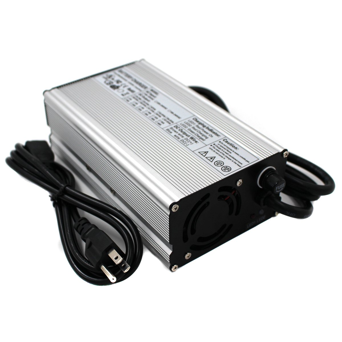 25.2V 16A Charger 25.2V 6S Li-ion Battery Charger Output 22.2V With Fan Aluminum Shell Smart Charger