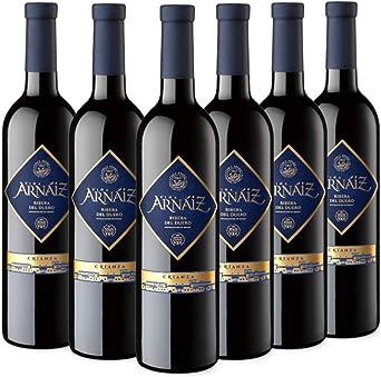 Viña Arnáiz Crianza Vino Tinto D.O Ribera del Duero - Pack de 6 Botellas x 750 ml: Amazon.es: Alimentación y bebidas