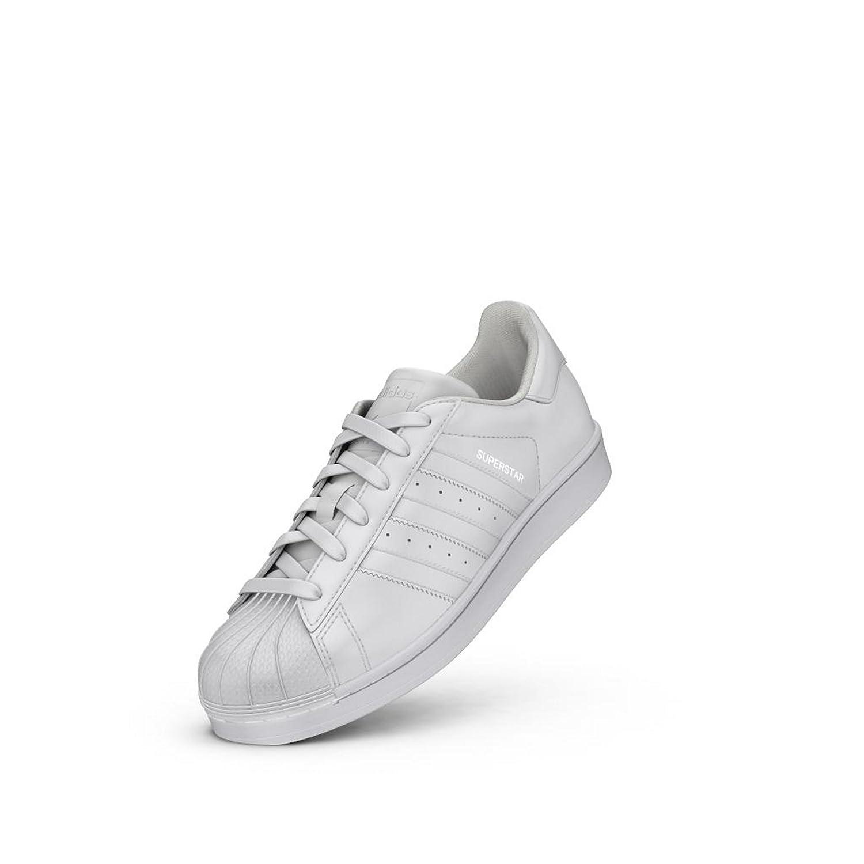 873db17dec Adidas Superstar J GS Sneakers Gymnastique Chaussures, femme Fille, bianco