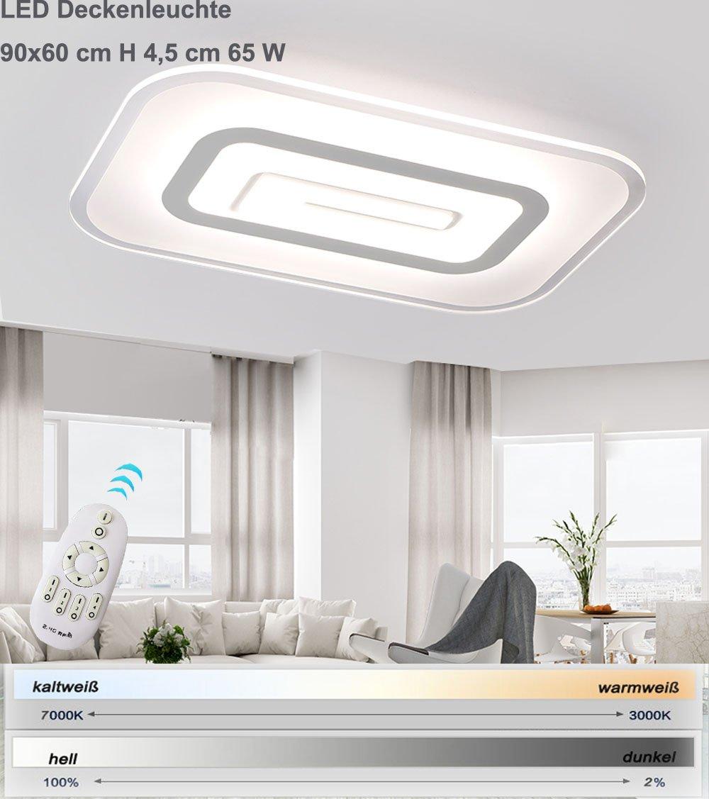LED Deckenleuchte 1614-900x600. 64 Watt Mit Fernbedienung ist die ...