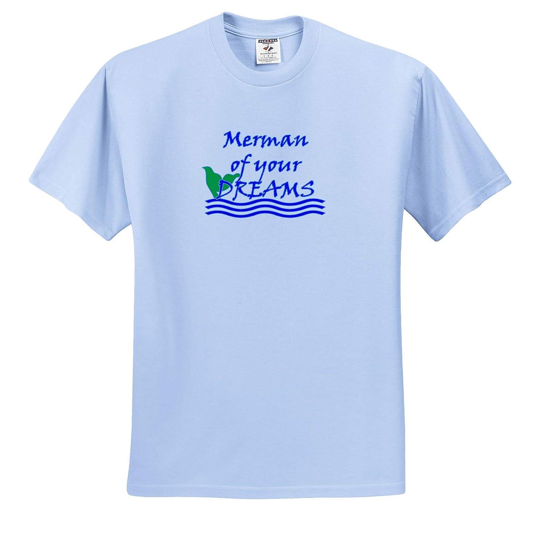 Merman Dreams 3dRose BlakCircleGirl Animal Hey are You The Merman of Their Dreams T-Shirts