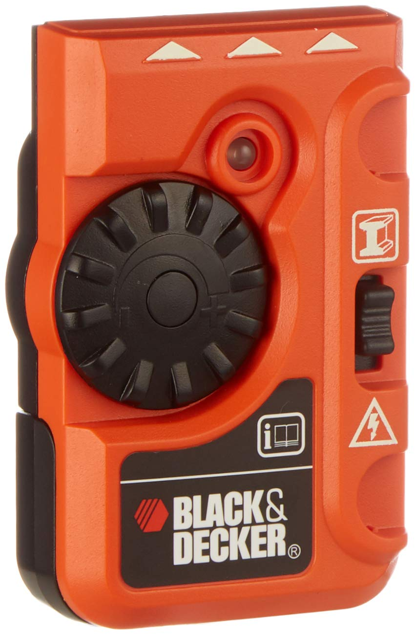 Black Decker Bds200 Pipe And Live Wire Detector Diy Locating Electrical Wiring Behind Walls Tools