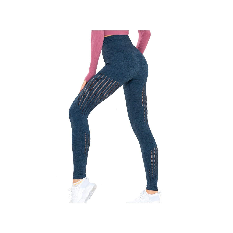 Amazon.com: KARUIS Womens Gym High Waist Yoga Pants Workout ...