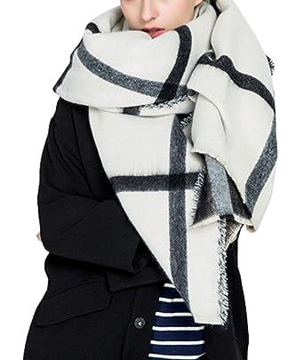 Veröffentlichungsdatum das billigste weltweit bekannt 5 ALL Schal Damen Karierter Schal Dicker Oversize Wollschal ...