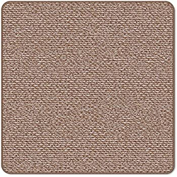House Home And More Skid Resistant Carpet Indoor Area Rug Floor Mat Praline Brown 3 X 3 Many Other Sizes To Choose From