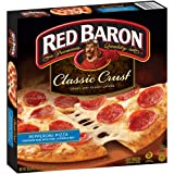 RED BARON PIZZA PEPPERONI CLASSIC CRUST 20 OZ PACK OF 2