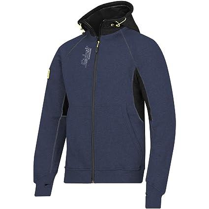 sale retailer eb59f a72e9 Snickers Workwear, Felpa con logo, con cappuccio e cerniera ...