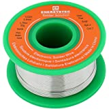 Lead Free Solder Wire Rosin Core Electrical Solder Wire Thin 0.6mm 50g Fine Solder with Flux 2.5 PB Free Sn99 Ag0.3 Cu0.7 Flo
