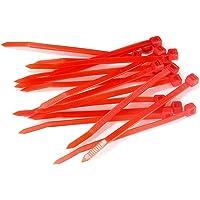 Romacci 20 peças de cabo zip Ties Heavy Duty 4 polegadas ultraforte plástico fio ties cortador de grama acessório de…
