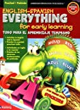 English-Spanish Everything for Early Learning, Preschool (English and Spanish Edition)
