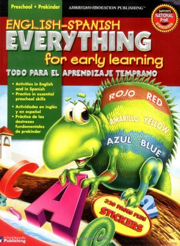 English-Spanish Everything for Early Learning, Preschool (English and Spanish Edition) (Preschool Programs compare prices)