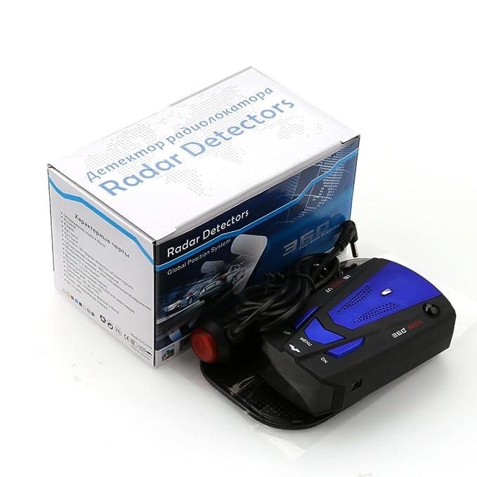 A de szcx Top última Radar Warner W/Dash Matte warnen Laser detektoren Radar para coches Voice Alert y Auto: Amazon.es: Deportes y aire libre