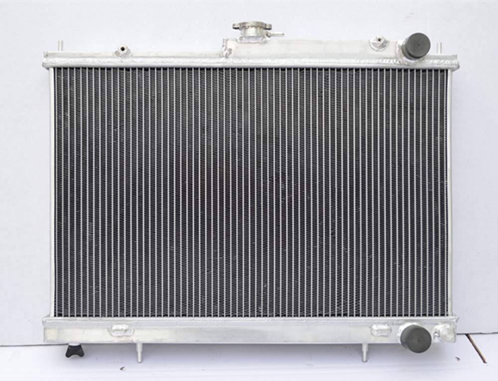 52MM Aluminum Radiator for Nissan Skyline R33 R34 GTR GTST RB25DET Manual MT