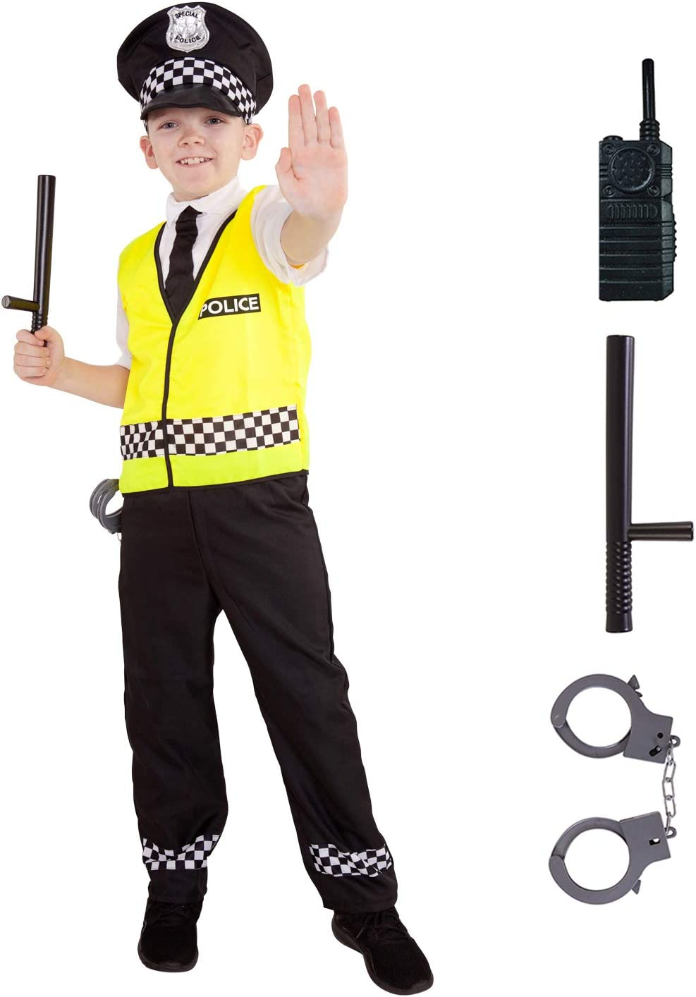 Morph Disfraz de policía de niños Disfrazado de Uniforme de ...