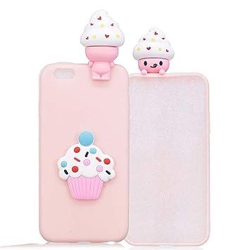 coque iphone 6 cupcake silicone