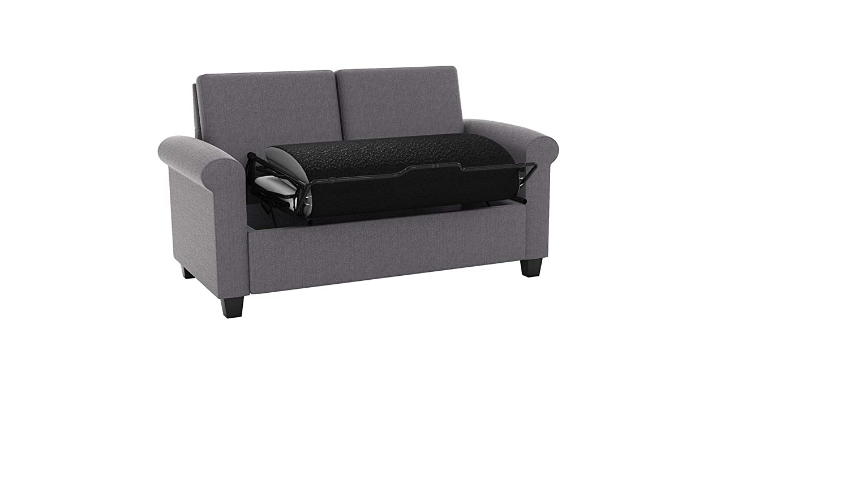 Amazing Amazon Com Dhp Logan Twin Sleeper Sofa Couch Pull Out Bed Creativecarmelina Interior Chair Design Creativecarmelinacom