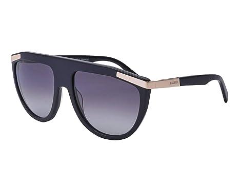 0c16fea4bb5 Amazon.com  Balmain sunglasses (BL-2114 01) Shiny Black - Gold ...