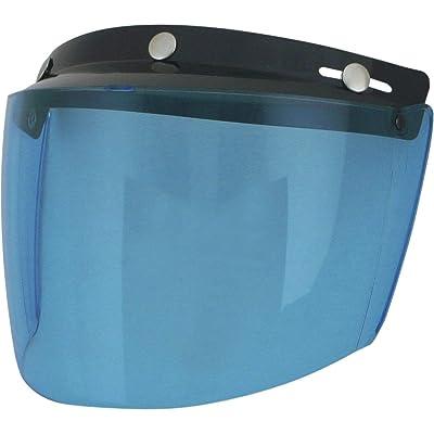 AFX 3-Snap Flip Shield (Blue): Automotive