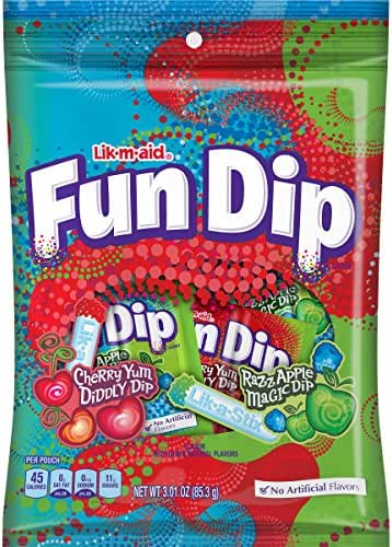 Hard Candy & Lollipops: Fun Dip