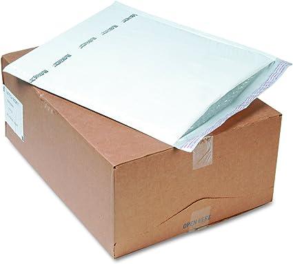 Sellado Air 37715 sellado Air Jiffy Tuffguard autocierre acolchado para correos, 14 1/4 x 20, blanco, 25 quilates: Amazon.es: Oficina y papelería