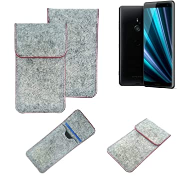 K-S-Trade® Funda Protectora De Fieltro para Sony Xperia ...