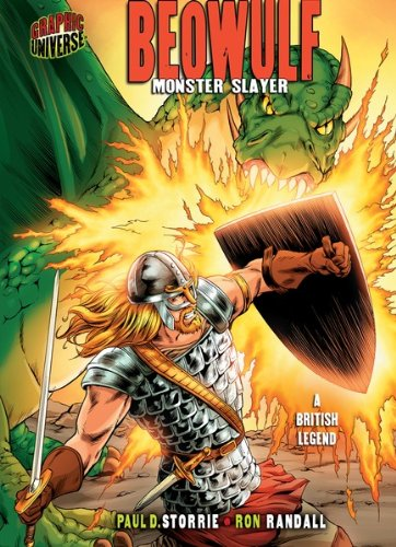 Beowulf: Monster Slayer [A British Legend] (Graphic Myths and Legends) (Names Of Monster High Characters)