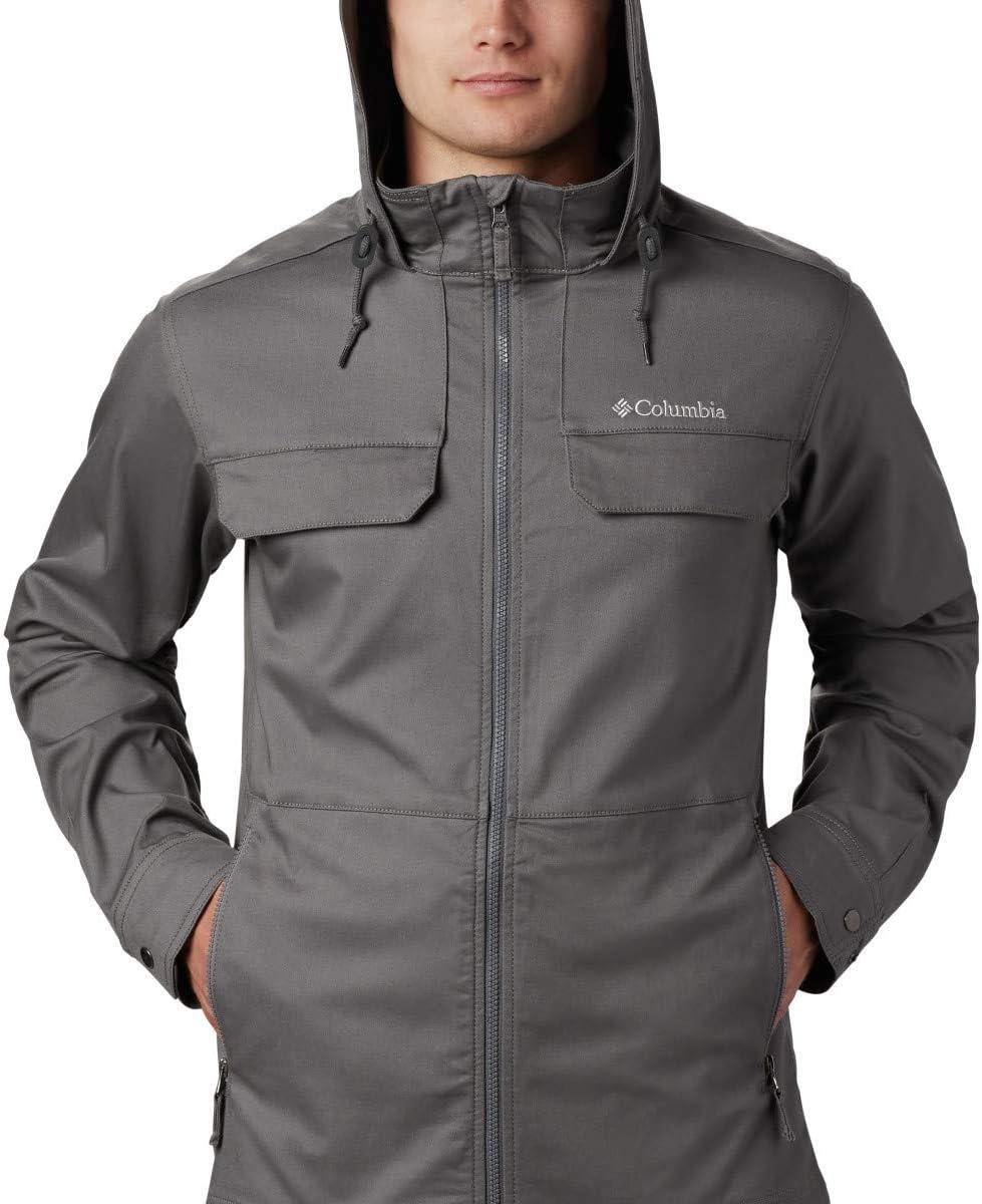 Versatile Columbia Mens Tummil Pines Hooded Jacket Cotton Blend