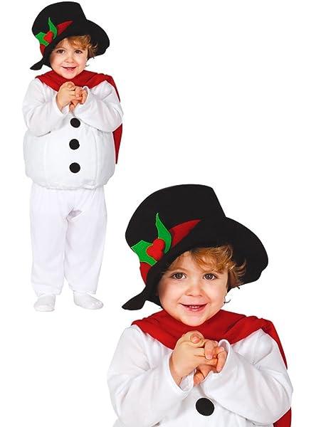 Disfraz de Muñeco de Nieve Baby para bebé: Amazon.es: Juguetes y ...