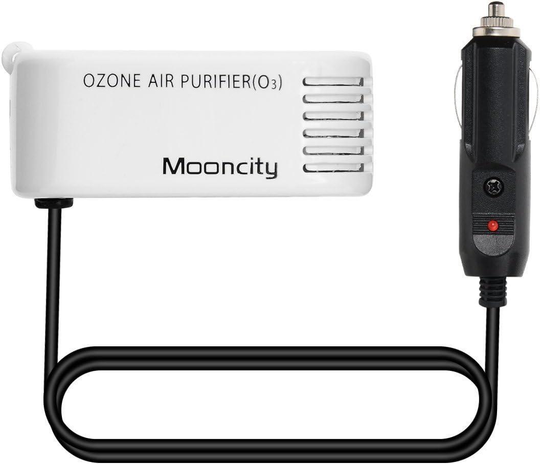 MoonCity ozono Mini coche purificador de aire ambientador de coche ...