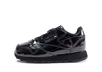 59c1161582374 Reebok Classic Leather Patent Trainers