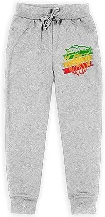 Yuanmeiju Reggae Lion Boys Pantalones Deportivos,Pantalones Deportivos for Teens Boys Girls