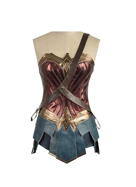 Cosplayfly Wonder Woman Disfraz de Cosplay para Adultos Mujer ...