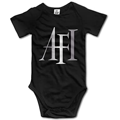 Amazon.com: Baby Boys' AFI A Fire Inside Rock Band Platinum Logo ...