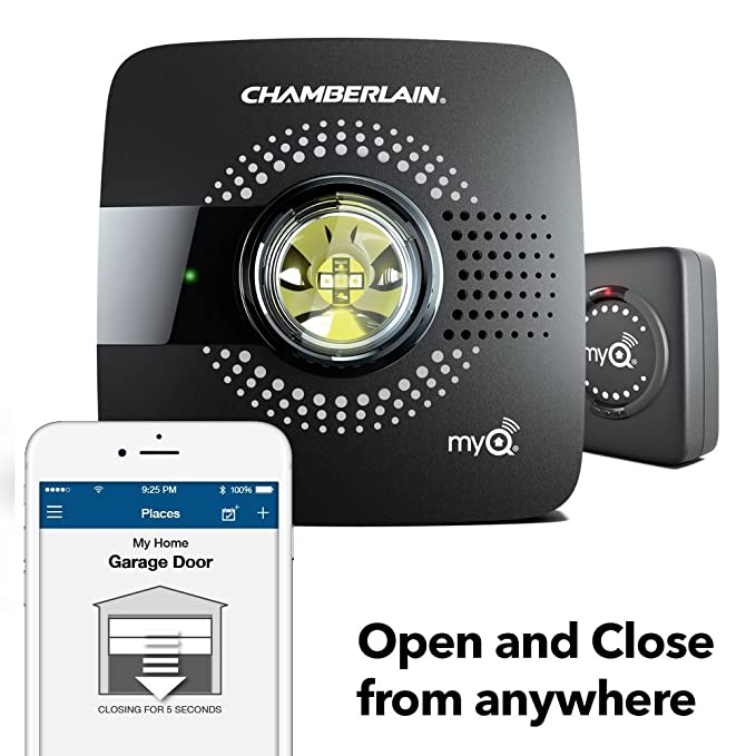 door hp garage opener review myq chamberlain liftmaster
