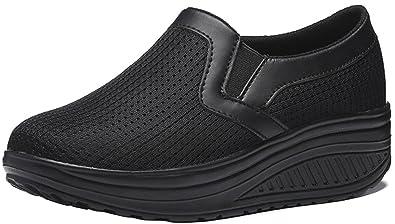 e446a2647d78 ACE SHOCK Platform Sneakers Women Mesh