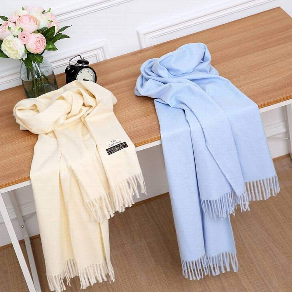 MTX Ltd Elegant Ladylike Cgreymere Unisex/Men/Women Warmth Pure Medium Color Medium Pure Long Otoño and Invierno Outdoor Multi-Functional Fgreyion Trend Wild Warm Shawl Scarf Gift, Camel a75a28