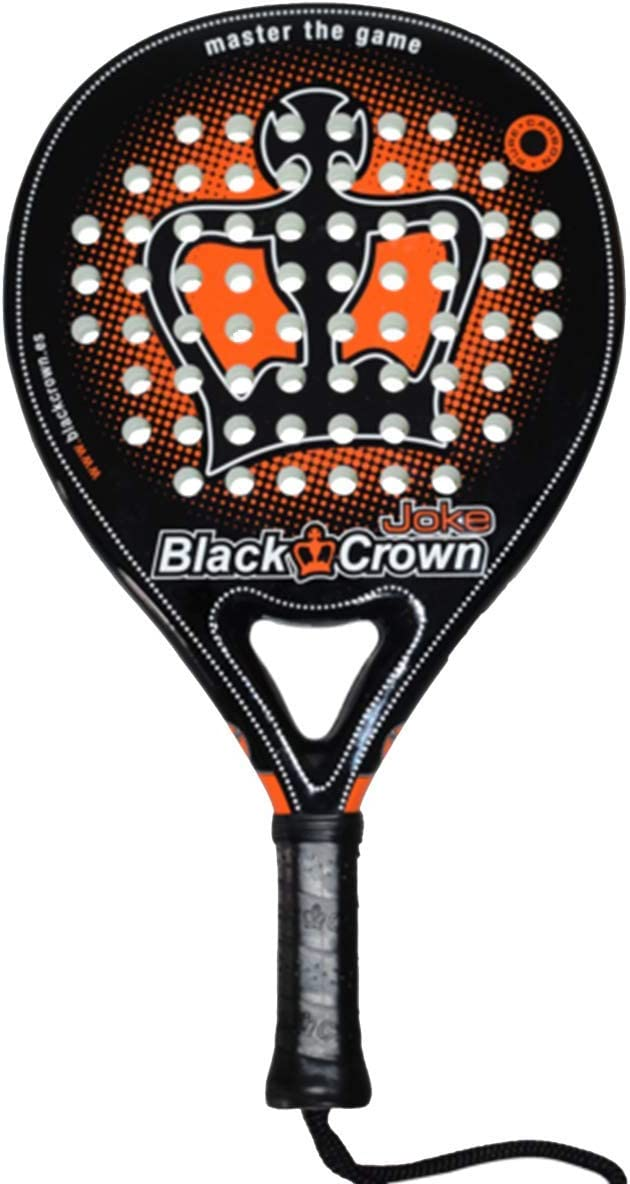 Black Crown Joke - Pala de Padel, Adultos Unisex, Negro/Naranja, L ...